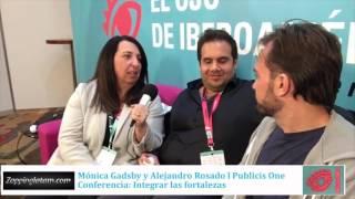Monica Gadsby y Alejandro Rosado de Publicis One en #ElOjo2016
