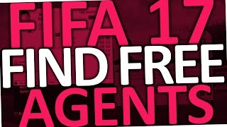 Fifa 17 - How to find Free Agents (Pre Contract Players)