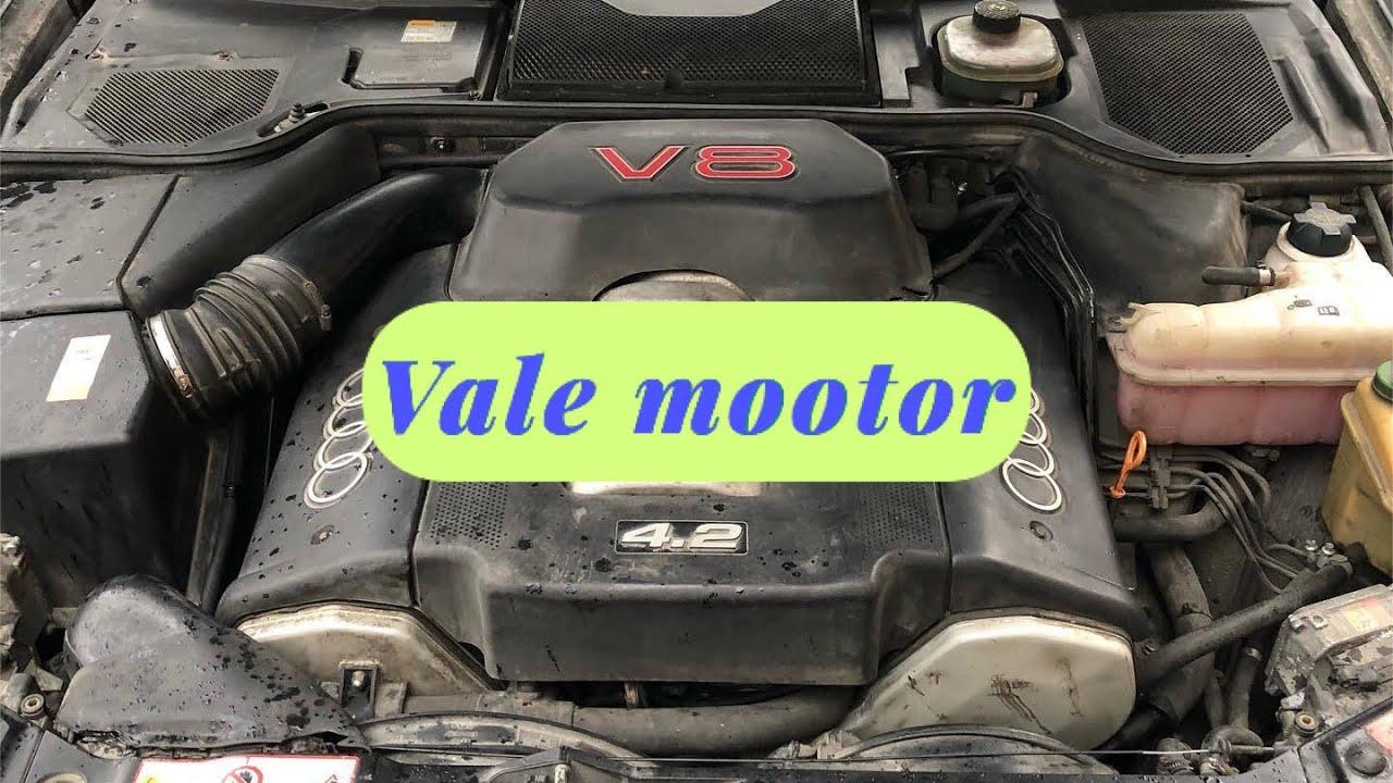 Audi S8 D2 V8 on paigaldatud A8 ABZ mootor   VLOG