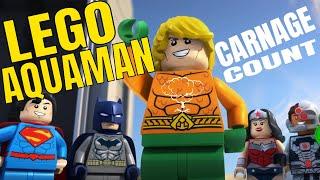 Lego Aquaman: Rage of Atlantis (2018) Carnage Count