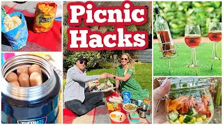 13 CLEVER PICNIC HAĊKS YOU MUST TRY | PICNIC IDEAS & TIPS | Emily Norris