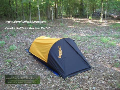 & Survival gear - Eureka solitaire review followup - YouTube