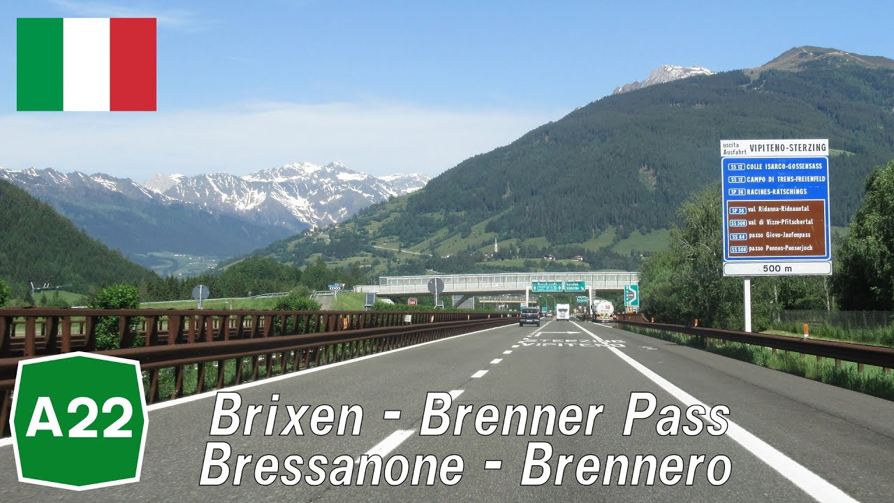 Download Italy: A22 Brixen - Brenner Pass