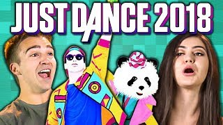 Download JUST DANCE 2018 (React: Gaming) Mp3 and Videos