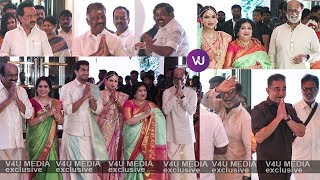 #SoundaryaRajinikanth Wedding | Exclusive | V4U Media