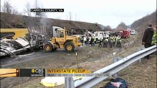 95-car pileup leaves three dead