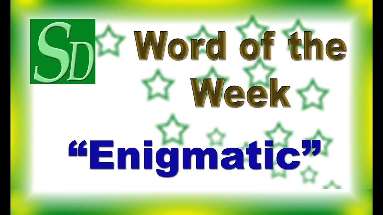 Worksheet What The Meaning Of Antonyms enigmatic meaning pronuciation synonyms enigmatic