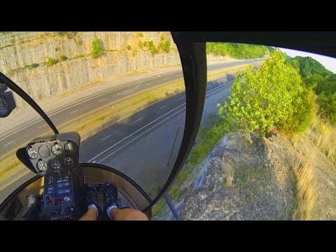 GoPro: R22 Helicopter Add-On Flight #24, CHECKRIDE PREP, Pinnacle/Confined Landing!! and BAD ...