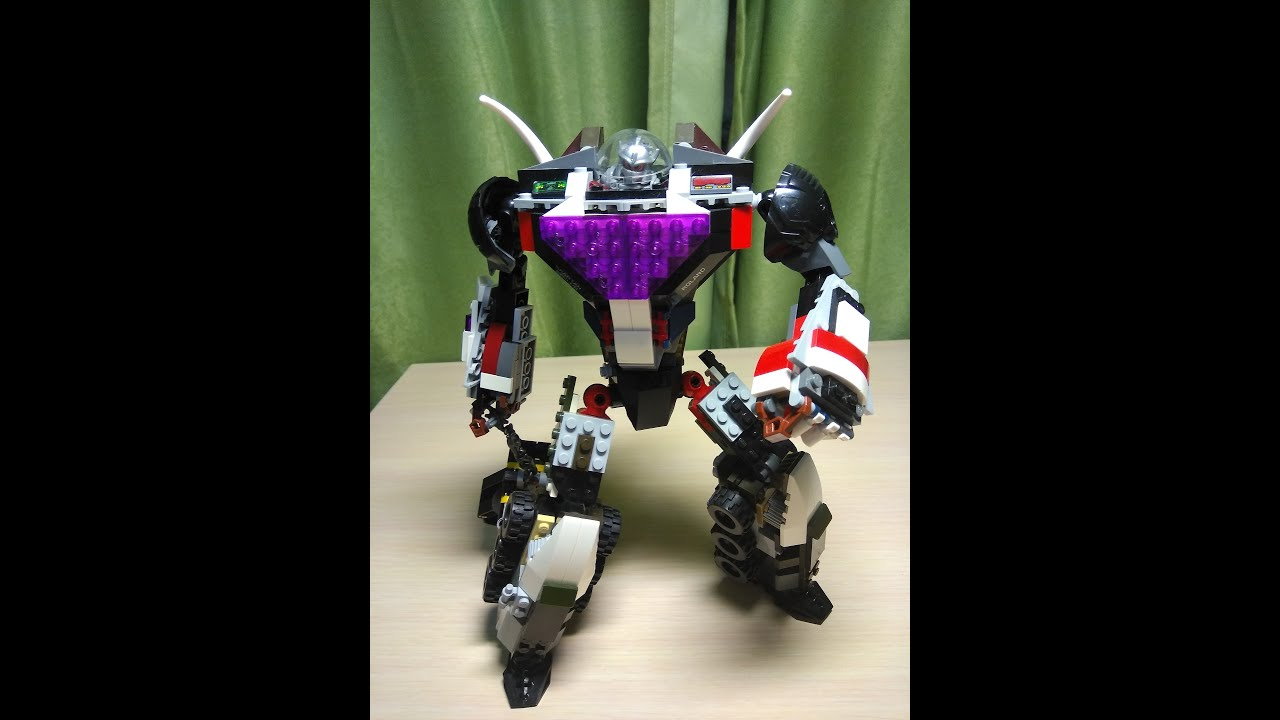картинки лего роботов мутантов внешне