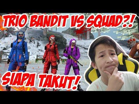 GILA!! TRIO BANDIT RATAIN SETENGAH SERVER DI MAD DOG!! TAPI BOONG WKWK   Free Fire Indonesia