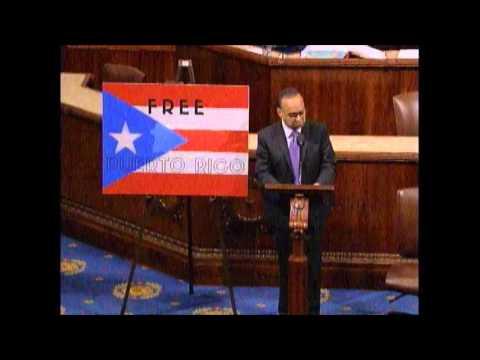 Rep. Gutiérrez: Free Puerto Rico