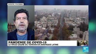 Covid-19 : Le Virus Gagne Du Terrain En Amérique Latine