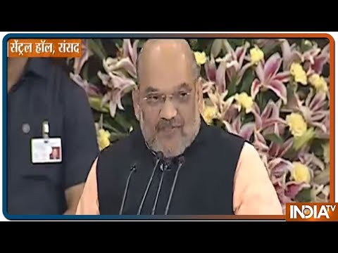 Amit Shah Proposes PM Modi's Names As The Leader Of NDA At Parliamentary Board Meeting