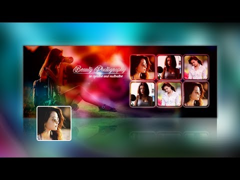 Photography Facebook Cover Photo Design Tutorial in Photoshop