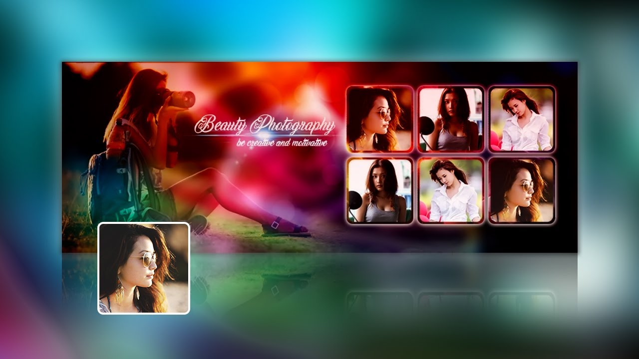 Photography Facebook Cover Photo Design Tutorial In