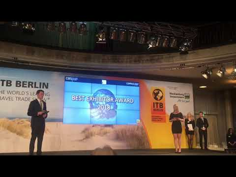 Ministry of Tourism won the Best exhibitor award in the category Asia/Australia/Oceania  🏆: INDIA A