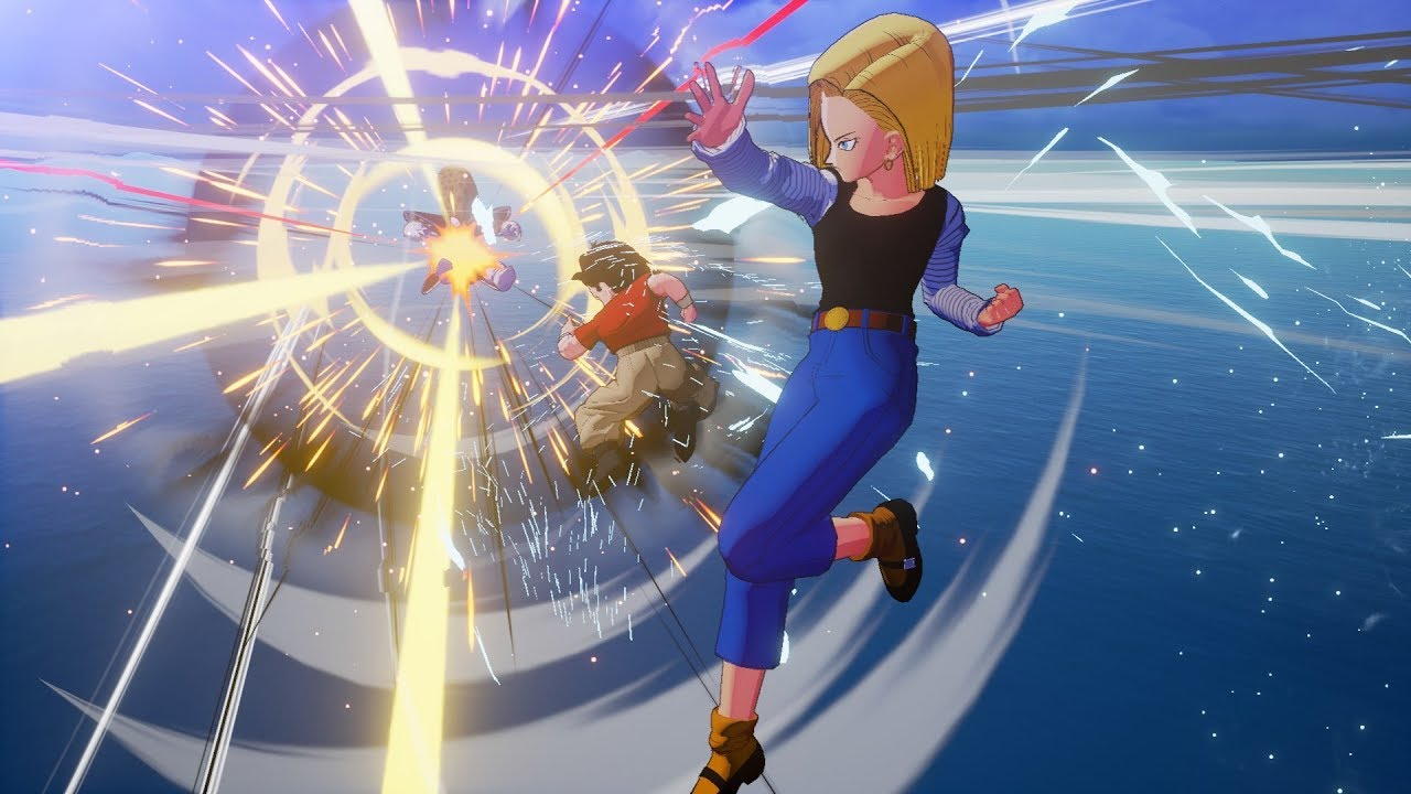 Dragon Ball Z Kakarot Android 18 Gohan Trunks Goten Gameplay Hd Screenshots Youtube