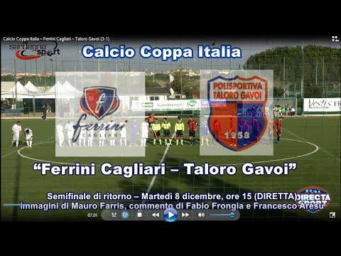Calcio Coppa Italia – Ferrini Cagliari – Taloro Gavoi (3-1)