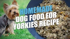 Homemade Dog Food for Yorkies Recipe