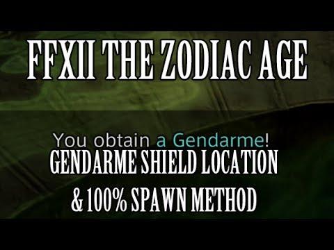 Final Fantasy 12: The Zodiac Age - Gendarme Shield Location & 100% Spawn Method (RNG Manipulation)