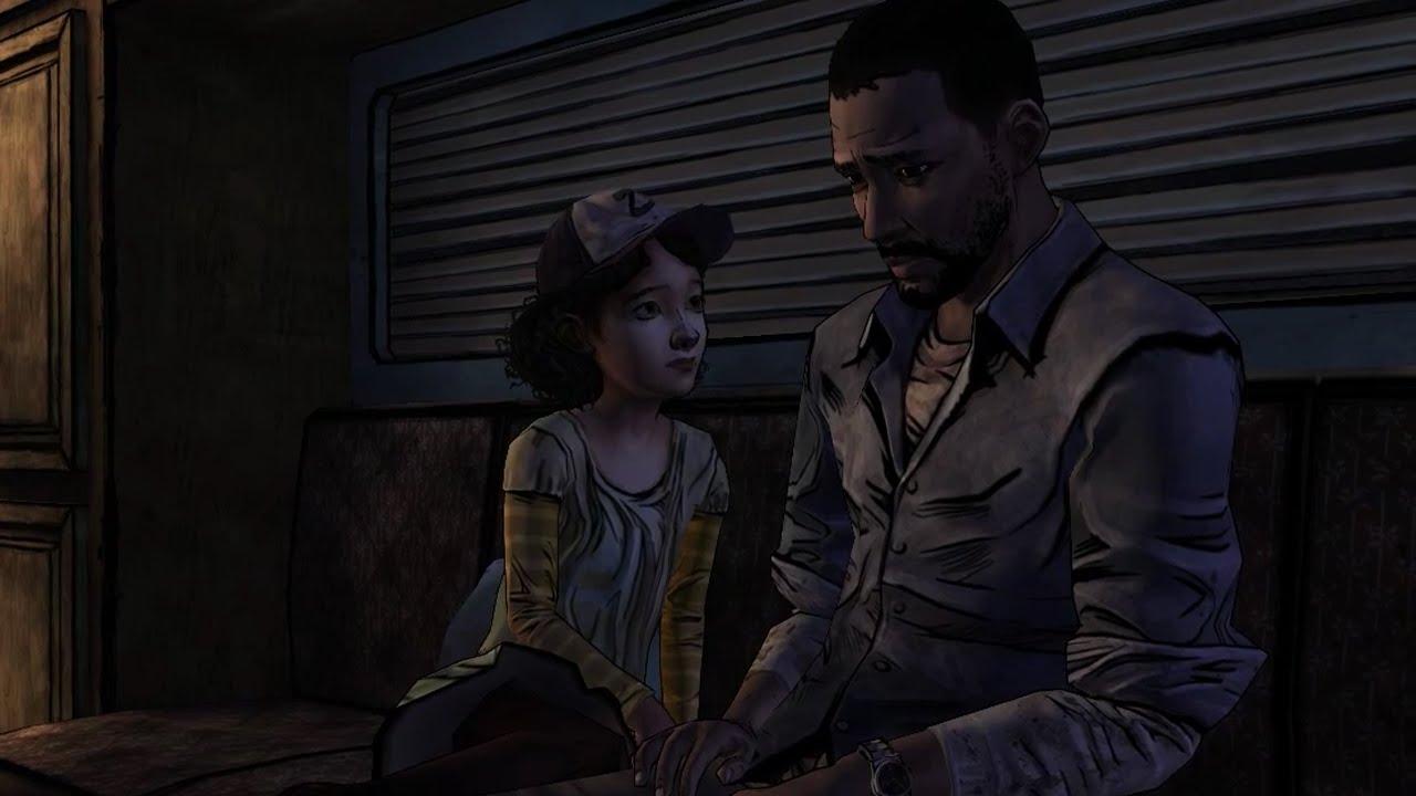 The Walking Dead Game Season 2 Flashback Lee Scene Youtube