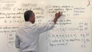 Ifope: Raciocínio Lógico para Concursos - Professor Walmir