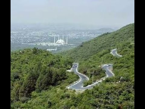 Faisal Mosque & Pir Sohawa Islamabad amazing hill views