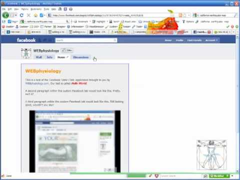 Adding a YouTube Video to your Facebook Page (4:29)