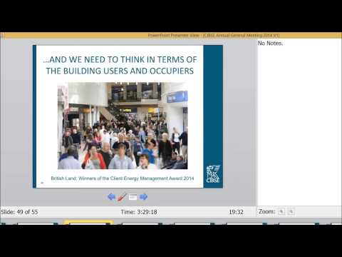 Peter Kinsella CIBSE Presidential Address 2014 - Global Challenges Global Solutions
