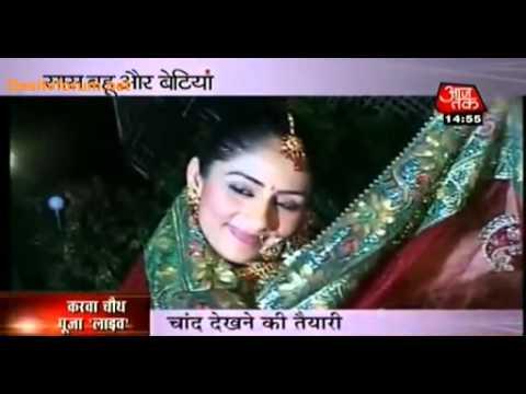 BHPH [On The Sets] Sanchi Ka Pehla Karwachauth