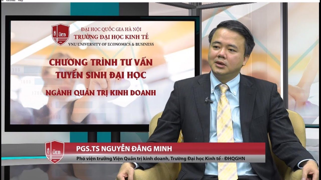 Photo of [UEB_VNU] Talkshow TVTS ngành Quản trị kinh doanh, Trường Đại học Kinh tế – ĐHQGHN  cập nhật mới nhất
