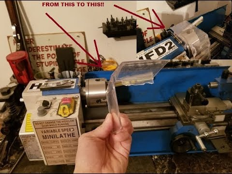 making a chuck guard for the chinese mini lathe youtube Mini CNC Lathe making a chuck guard for the chinese mini lathe