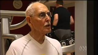 Meet Charles Eugster, still pumping iron at the age of 93 (The Health Quarter, ABC Australia)