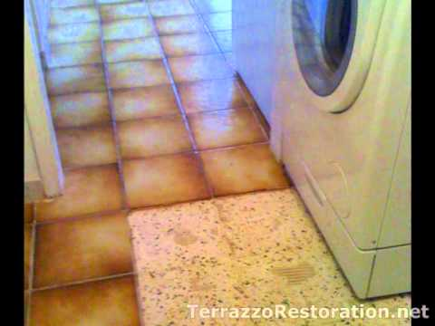 How To Remove Old Tile Flooring Youtube