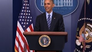 Obama Touts Successes in Year-End News Conf.