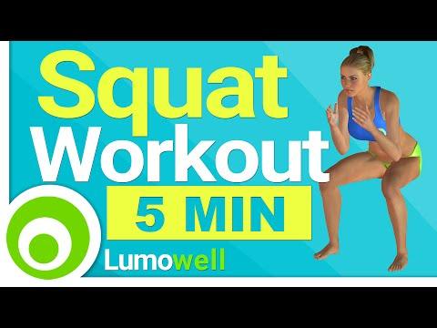 5 Minute Squat Workout
