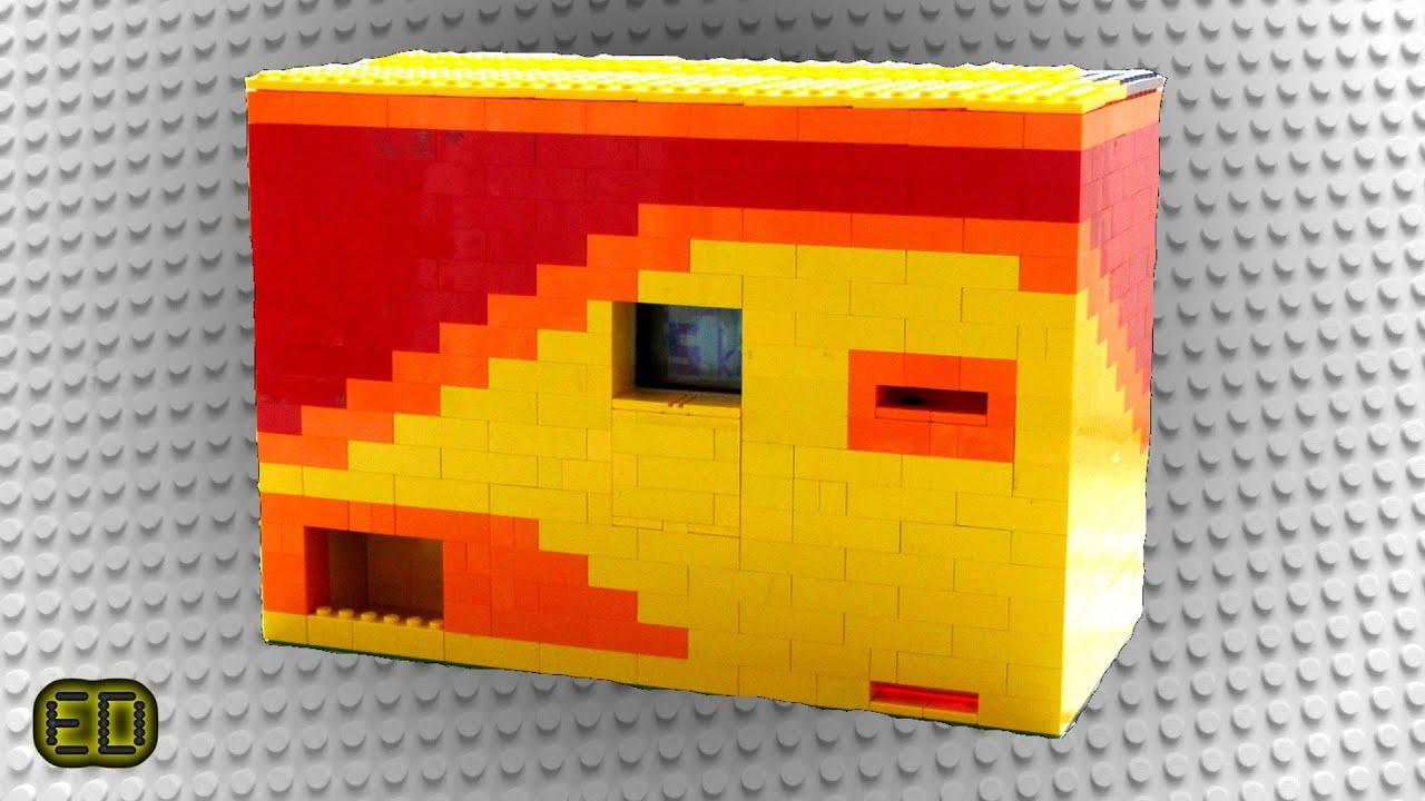 Lego Mindstorms Candy Machine V1 Fire Design Youtube