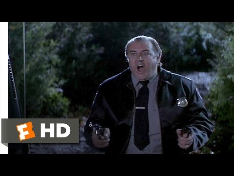 Fear (9/10) Movie CLIP - The Security Guard Is Shot (1996) HD