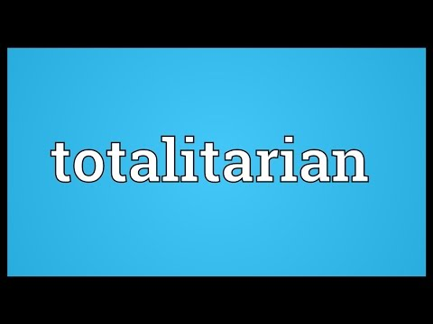 Totalitarian Meaning