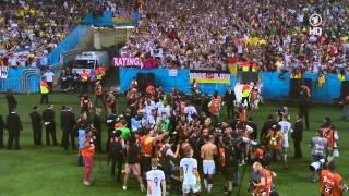 Siegerehrung vom Weltmeisterschaftsspiel 2014 Deutschland - Argentinien