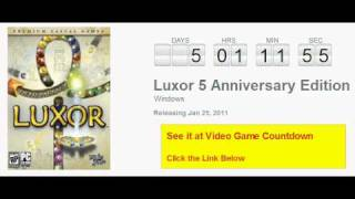 Luxor 5 Anniversary Edition PC Countdown