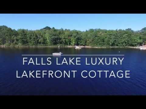 Falls Lake Luxury Lakefront Cottage