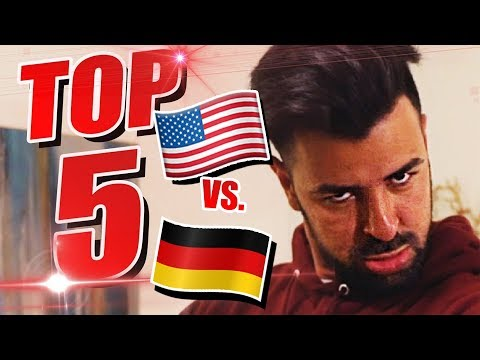 USA VS. GERMANY! TOP 5 Erlebnisse in den USA