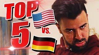 USA VS. GERMANY! TOP 5 Erlebnisse in den USA