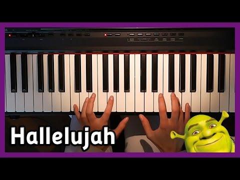 🎵 Hallelujah 🎵 Shrek | Piano cover