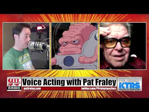 259-Legendary Voice Actor Pat Fraley on TMNT, GI Joe, Unicon, and Coaching