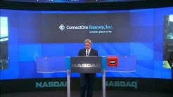 ConnectOne Bancorp, Inc. One Year Anniversary NASDAQ Closing Bell Ceremony 2014