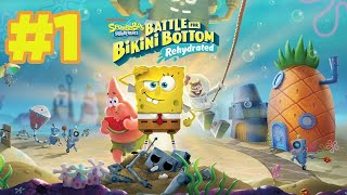 Bob Esponja: Battle for Bikini Bottom Rehydrated 💦