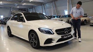 2019 Mercedes C Class C180 AMG - NEW Full Review Start Up Sound Interior Exterior