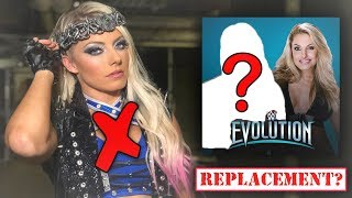 Real Reason Why Alexa Bliss is MISSING FROM WWE + EVOLUTION Match Cancelled?!? (WWE Raw)